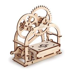 3D Mechanical Puzzle Storage Box Assembly Kit
