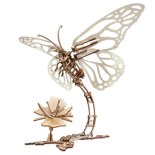 View a Larger Image of Mechanical Butterfly