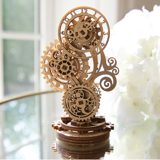 View a Larger Image of Steampunk Clock
