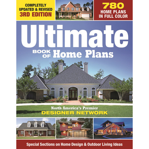 View a Larger Image of Ultimate Book of Home Plans