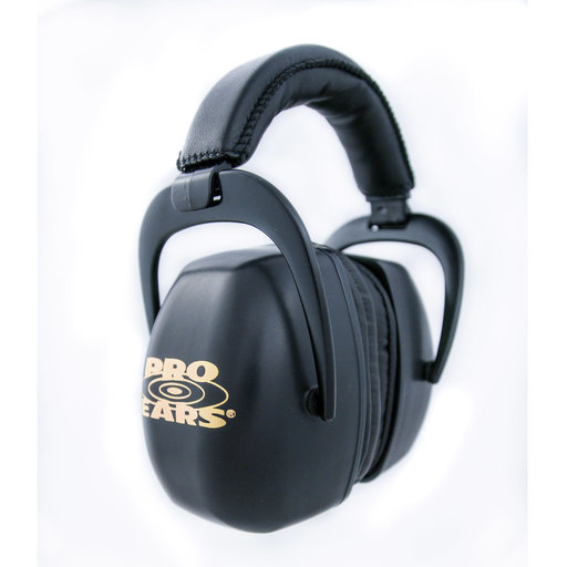 View a Larger Image of  Ultra Pro Black Hearing Protectors