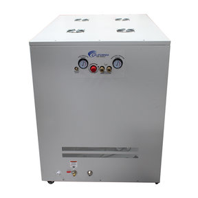 4HP 20 Gallon Oil-Free Compressor with Air Drying System and Auto Drain Valve in Soundproof Cabinet