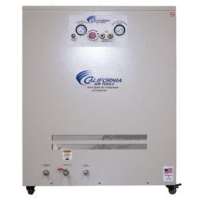 4HP 20 Gallon Oil-Free Compressor with Drying System in Soundproof Cabinet