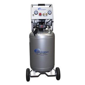 2HP 220V 20 Gallon Oil-Free Steel Tank Air Compressor with Auto Drain Valve