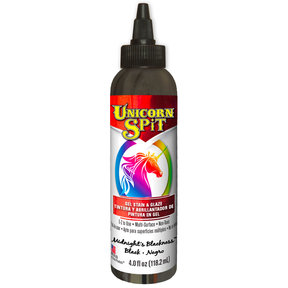 Blackness Gel Stain and Glazed Water Based 4 oz
