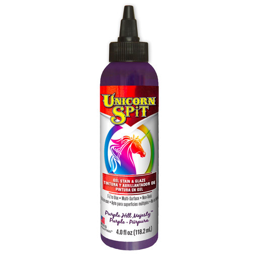 View a Larger Image of Purple Majesty Gel Stain and Glazed Water Based 4 oz