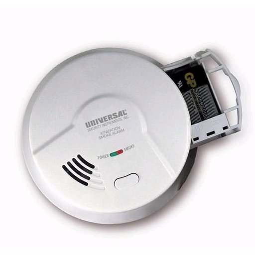View a Larger Image of Ion Smoke and Fire Alarm, 9V, Model MI3050