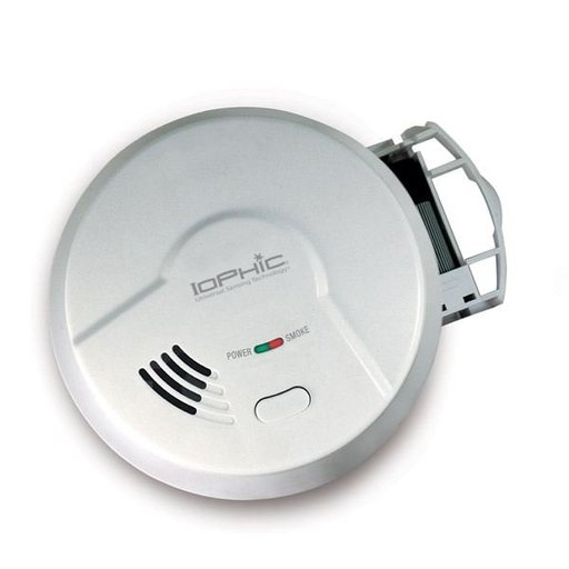 View a Larger Image of IoPhic Smoke and Fire Alarm, Model MDS300B