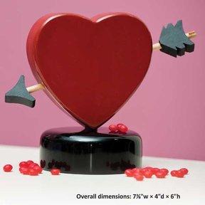 Valentines Candy Dispenser - Downloadable Plan