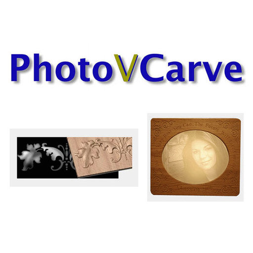 View a Larger Image of Vectric Photo Vcarve Software