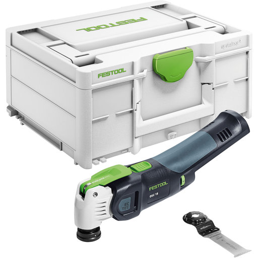 View a Larger Image of VECTURO OSC 18 E-Basic Cordless Oscillating Multi-Tool (Tool Only)