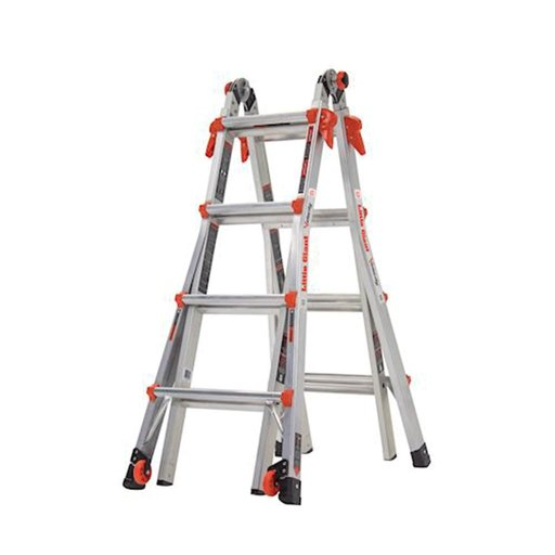 View a Larger Image of Velocity Model 17 Articulated Extendable Ladder