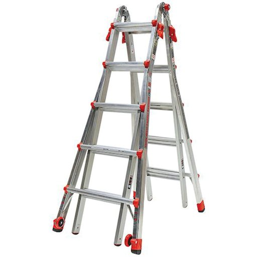 View a Larger Image of Velocity Model 22 Articulated Extendable Ladder