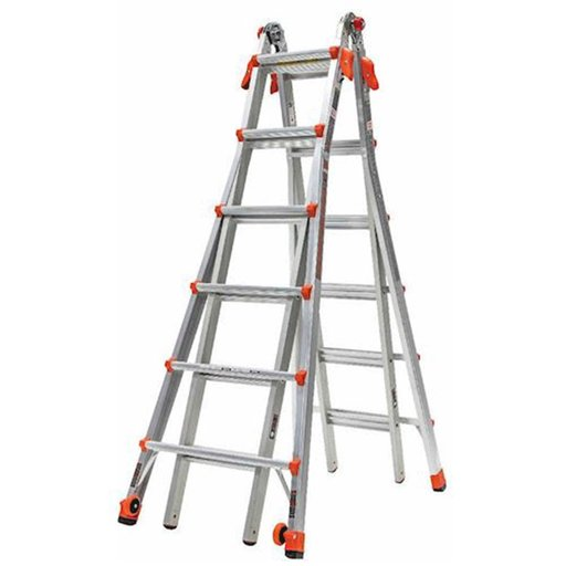 View a Larger Image of Velocity Model 26 Articulated Extendable Ladder