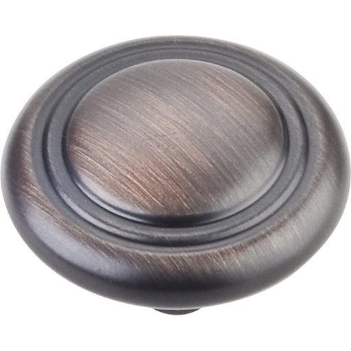"""View a Larger Image of Vienna Knob, 1-1/4"""" Dia.,  Brushed Oil Rubbed Bronze"""