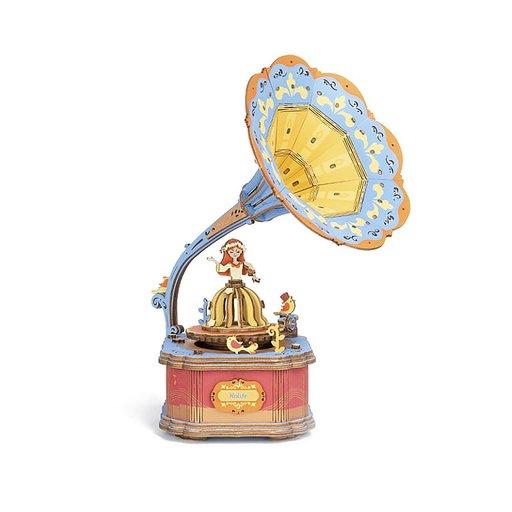View a Larger Image of Vintage Gramophone Music Box Kit