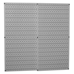 Gray Metal Pegboard Pack - Two Pegboard Tool Boards