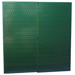 Green Metal Pegboard Pack - Two Pegboard Tool Boards