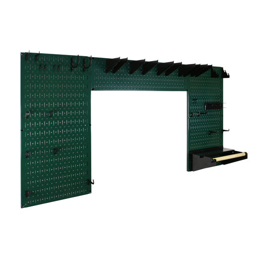 View a Larger Image of Lazy Guy DIY Maker Woodworking Tool Storage Organizer Set, Green