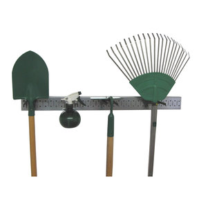 Metal Pegboard Strip Garden Tool Organizer Kit