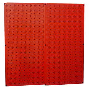 Red Metal Pegboard Pack - Two Pegboard Tool Boards