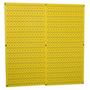 Yellow Metal Pegboard Pack - Two Pegboard Tool Boards