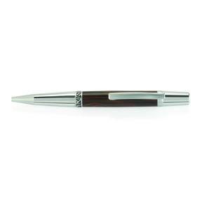 Wall Street II Elegant Ballpoint Pen Kit - Chrome with Satin