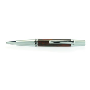 Wall Street II Elegant Ballpoint Pen Kit - Satin with Chrome