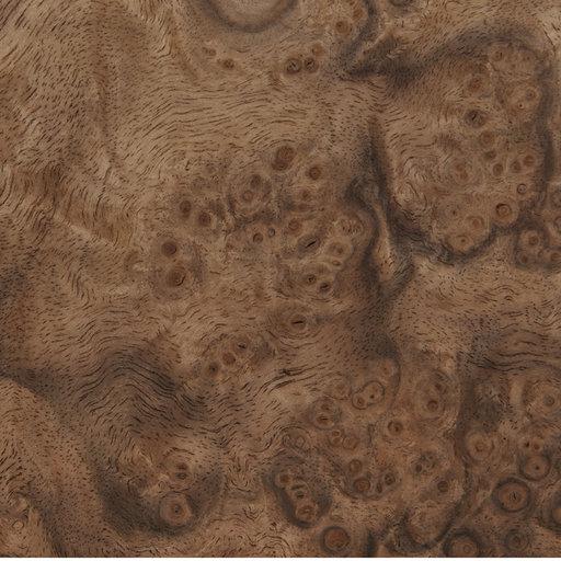 View a Larger Image of Walnut Burl, 8 Sq Ft Veneer Pack