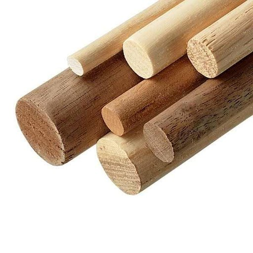 """View a Larger Image of Walnut 7/8"""" x 36"""" Round Wood Dowel"""