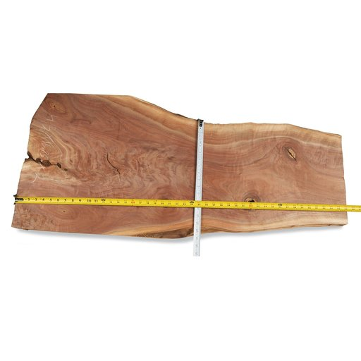 "View a Larger Image of Walnut Fancy Crotch Slab 45"" x 16-3/4"" x 2"""
