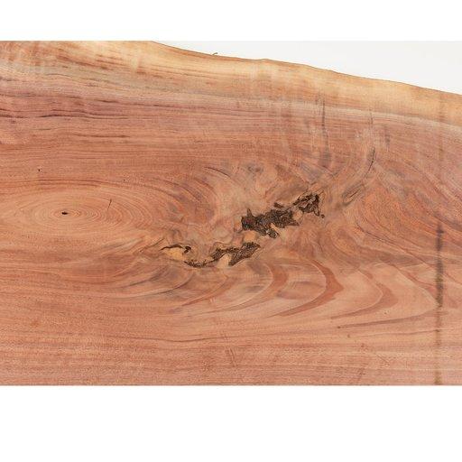 "View a Larger Image of Walnut Fancy Crotch Slab 50"" x 19"" x 2"""