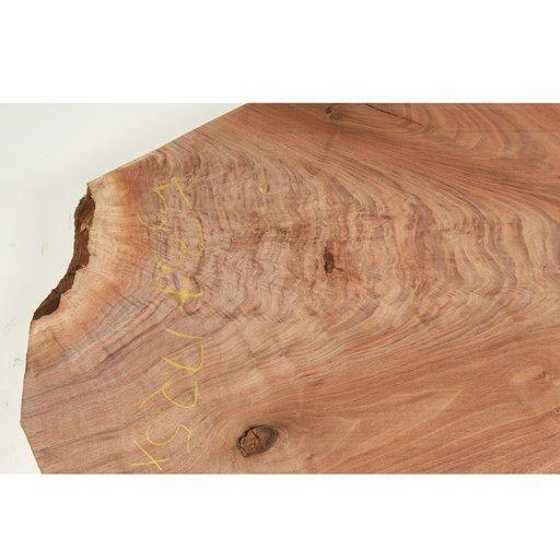 "View a Larger Image of Walnut Fancy Crotch Slab 53"" x 17-1/4"" x 2"""