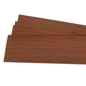 "Walnut 1/16"" Thick 4-1/2"" to 7-1/2"" Width 3 sq ft Pack Wood Veneer"