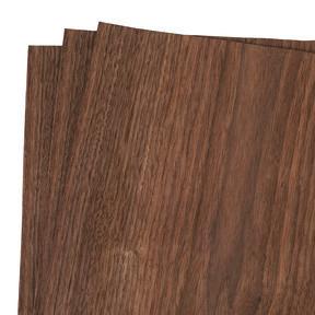 """Walnut Wood Veneer Pack - 12"""" x 12"""" - 3 Piece"""