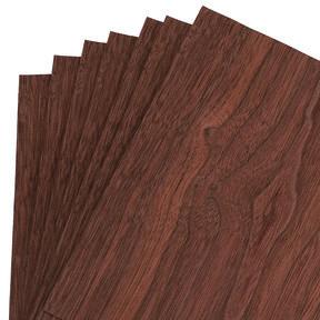 """Walnut Wood Veneer Pack - 8"""" x 8"""" - 7 Piece"""
