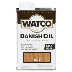 Cherry Danish Oil Solvent Based Pint