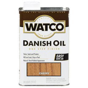 Cherry Danish Oil Solvent Based Quart
