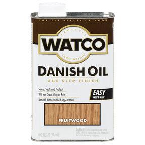 Fruitwood Danish Oil Solvent Based Quart