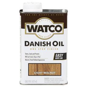 Light Walnut Danish Oil Solvent Based Pint