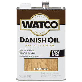 Natural Danish Oil Solvent Based Gallon
