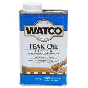 Natural Oil Teak Oil Solvent Based Pint