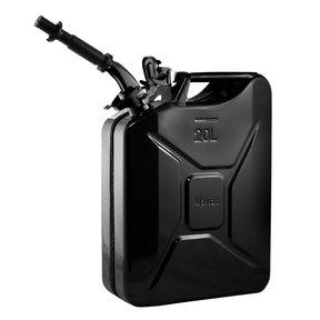 Gas Can 20 liter Black