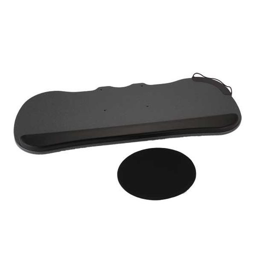 View a Larger Image of MDF Keyboard Tray with Palm Rest, Model 30151A