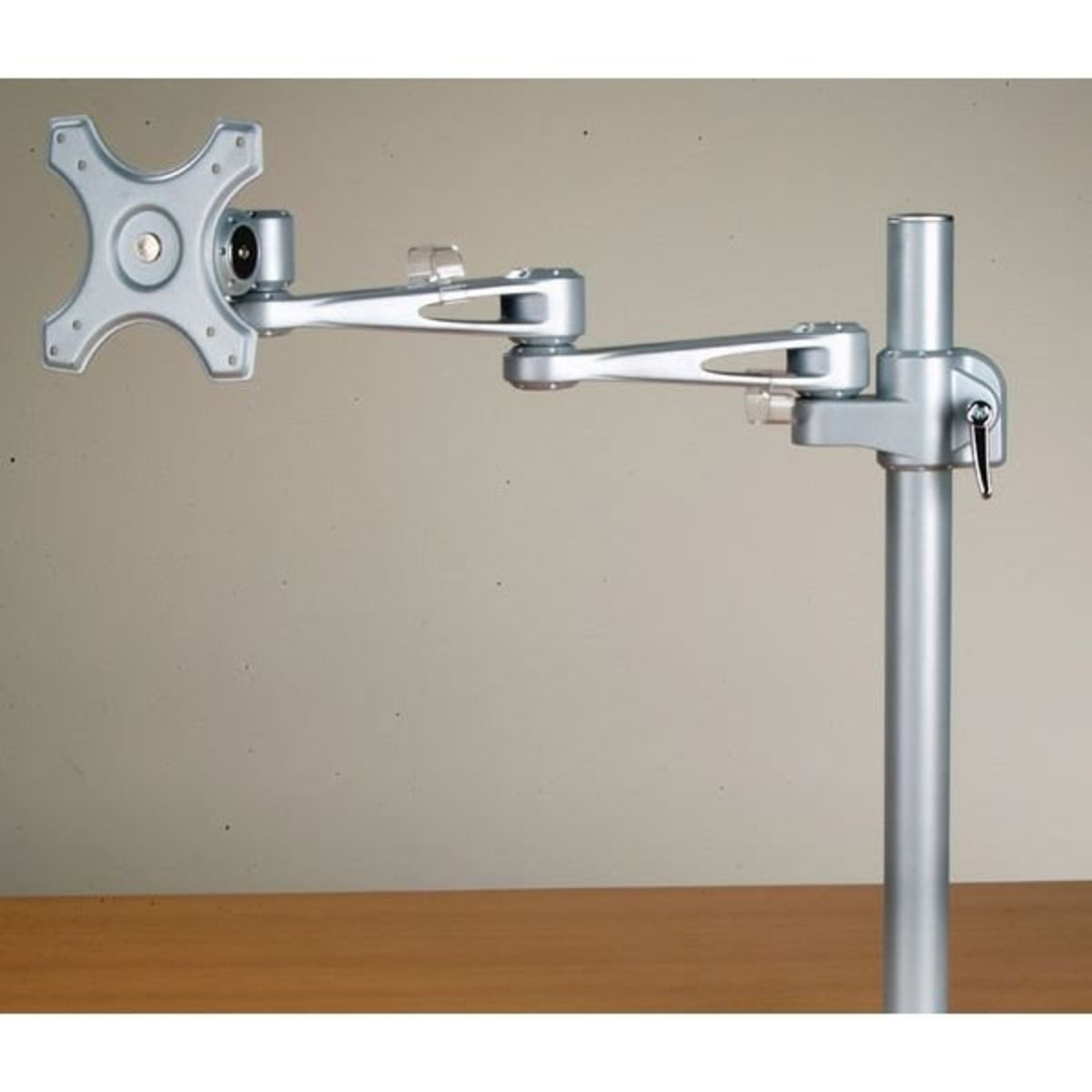 View a Larger Image of T-Rex Single Monitor Arm with Clamp Mount, Model 30590