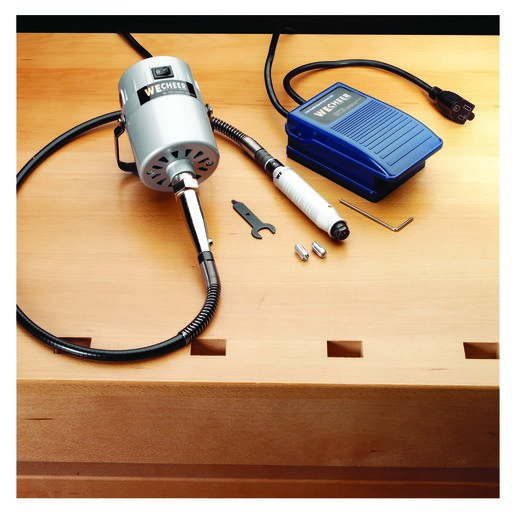View a Larger Image of 1/4 HP Flexible Shaft Carver Kit