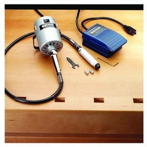 1/4 HP Flexible Shaft Carver Kit