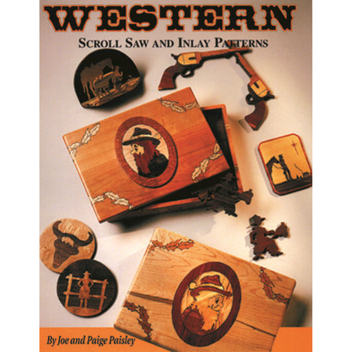 View a Larger Image of Western Scroll Saw and Inlay Patterns