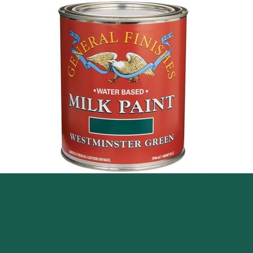 View a Larger Image of Westminster Green  Based Milk Paint Quart