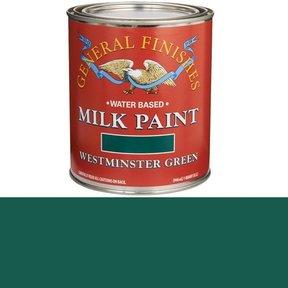 Westminster Green  Based Milk Paint Quart